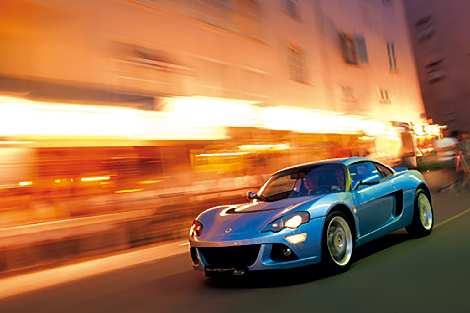 Lotus Cars - retouched image